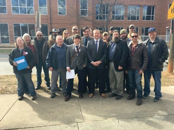 The Randall's, Isaac Smith, Jason Kessler... all white nationalists with Stewart front and center. You can try to say you wish he wasn't a supporter of these groups all you want, but the evidence is right there in front of you if you open your eyes. <br>http://pic.twitter.com/eol7f82bgy