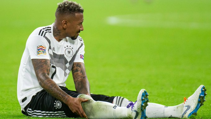 A calf injury on international duty for @JB17Official 🤕 ➡️ #FCBayern #NEDGER Foto