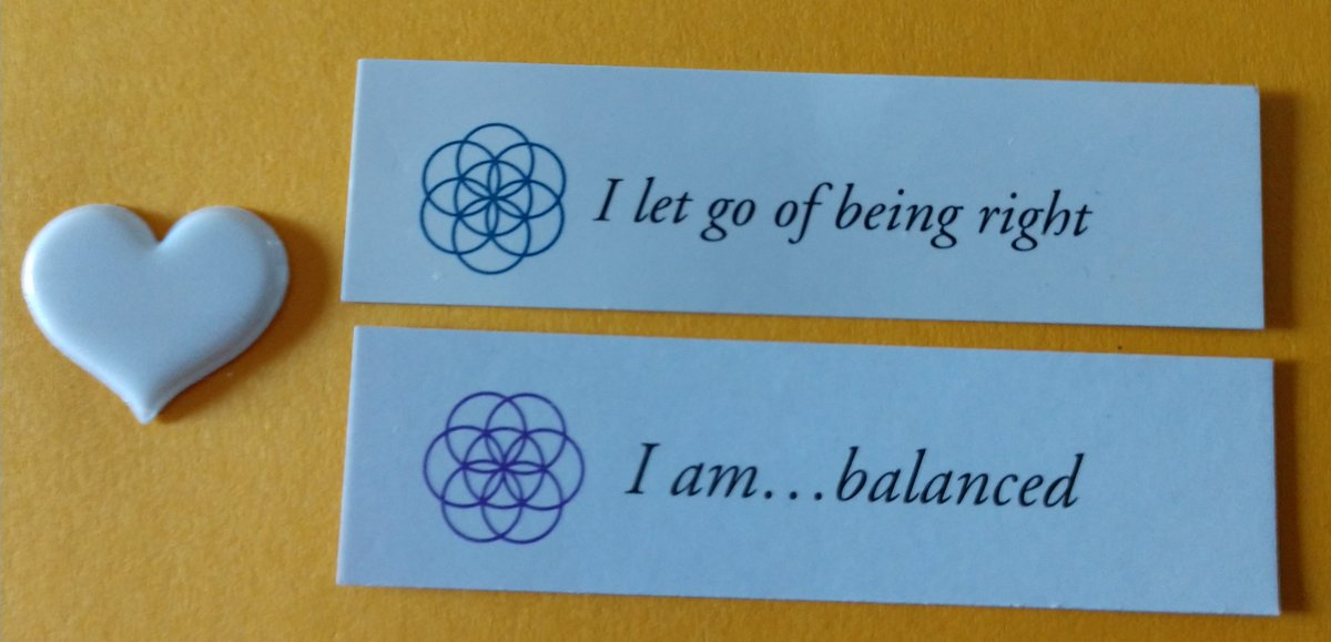 "test Twitter Media - Today's Positive Thoughts: I let go of being right and I am...balanced. Randomly selected from ""Letting Go"" and ""I am"" inspirational card sets. #affirmation https://t.co/qTYf1UHHEX"