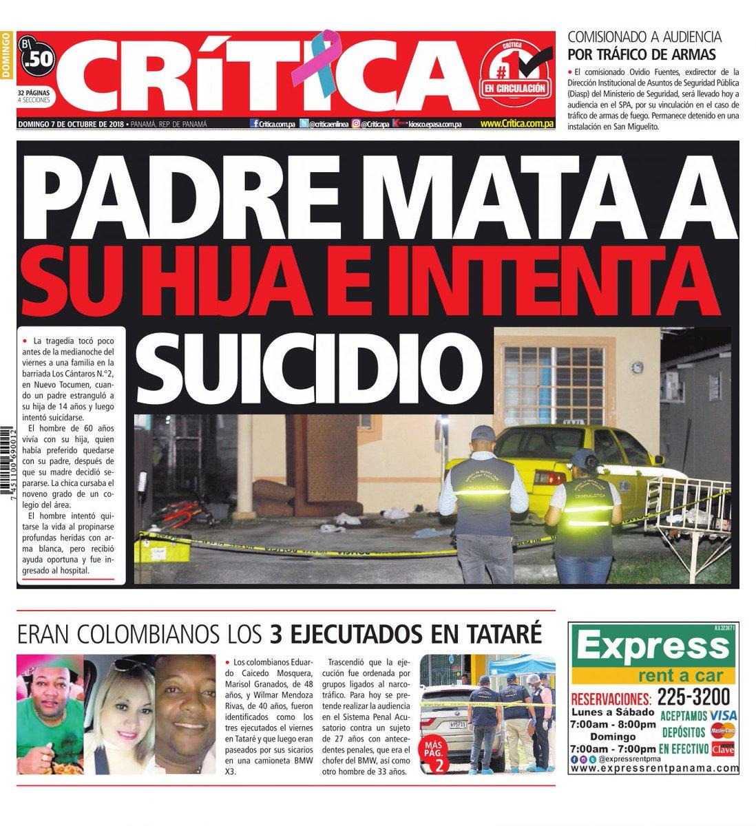 Diario Criticapa On Twitter Portadacri Las últimas Noticias En