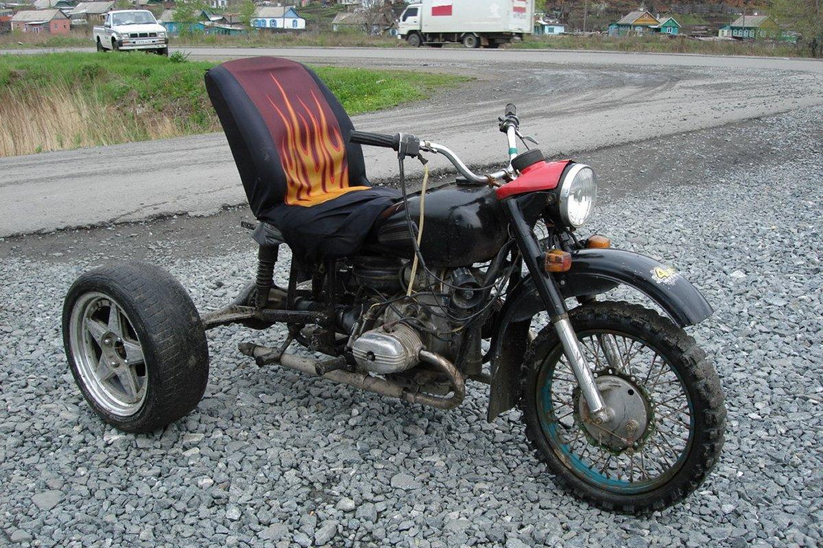 Тюнинг мотоцикла урал картинки
