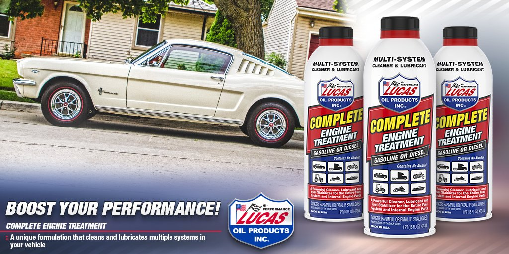 Lucas Oil Products on Twitter: