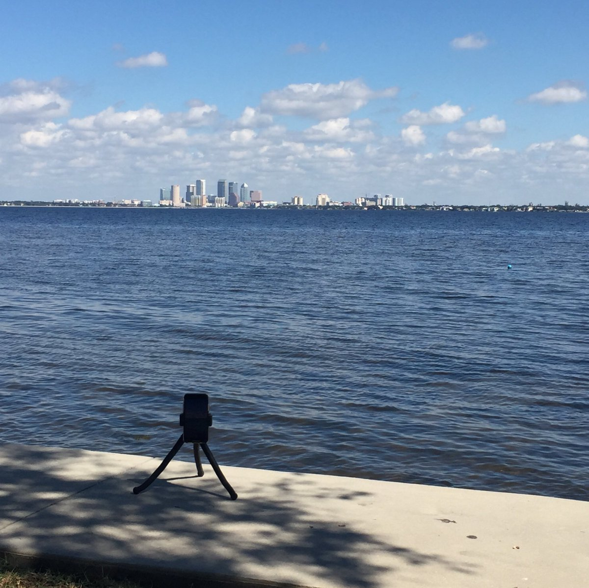 Working on a cool #timelapse video. #tampa #iPhoneX