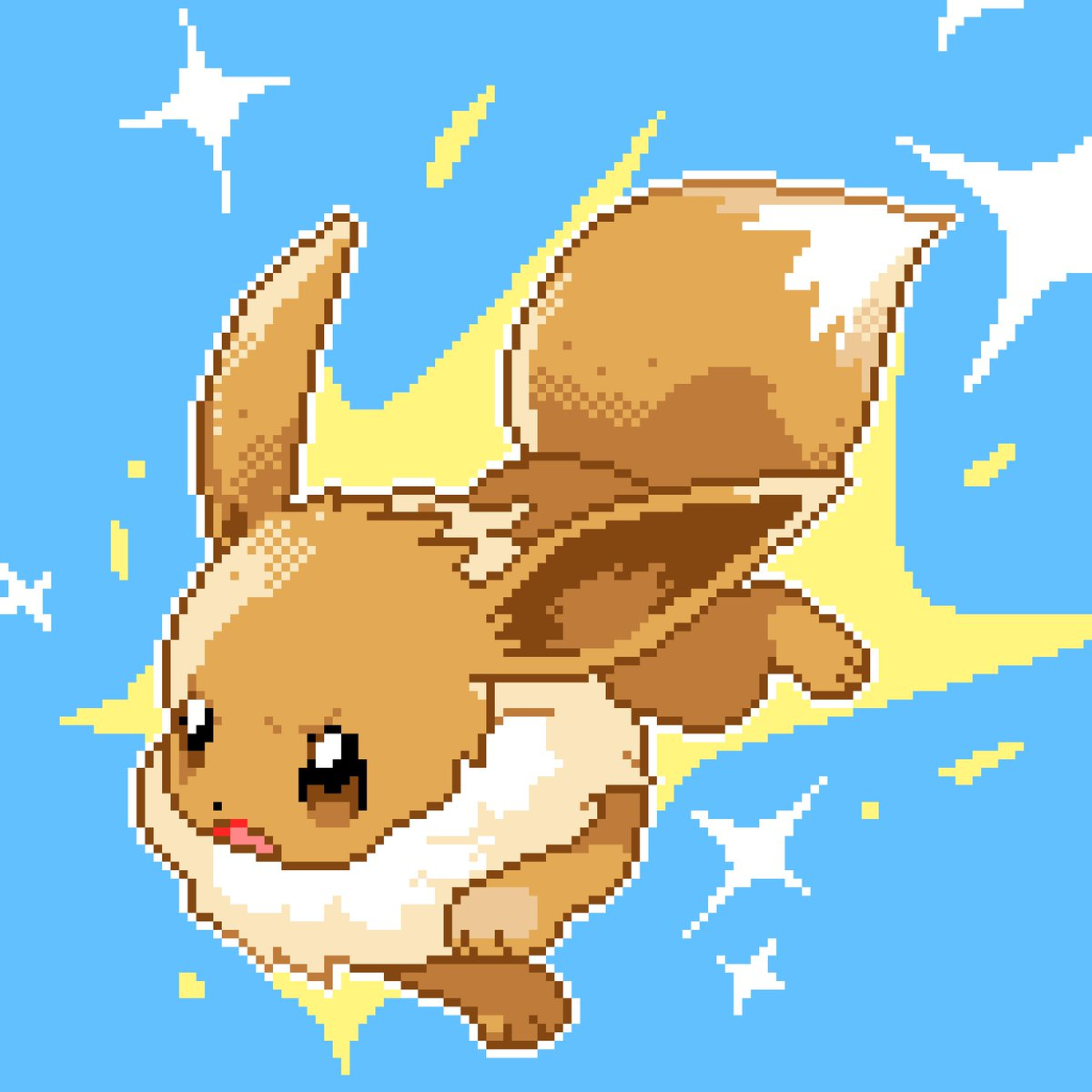 Pokémon Pixels On Twitter Veevee Volley Drawn With