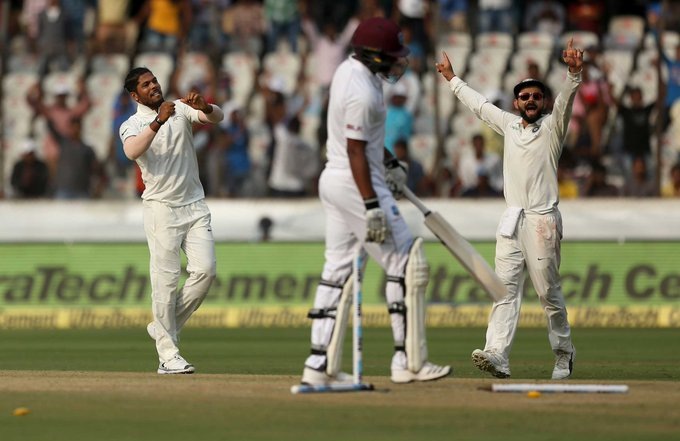 India completed an emphatic sweep of the West Indies with a 10-wicket victory: #INDvWI Photo