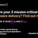 """The movie """"Deep Water Horizon"""" is actually linked to Software Service Delivery operations! Find out how from @jamesfharvey on the latest edition of Firing Line with @BillKutik. https://t.co/AQksLhVXZj"""