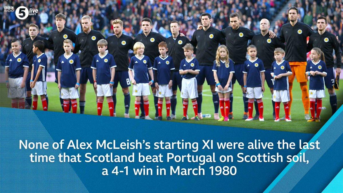 It's been a long time since Scotland last beat Portugal...   #SCO 0-1 #POR  📻 https://t.co/NI1sjtGRxI #SCOPOR