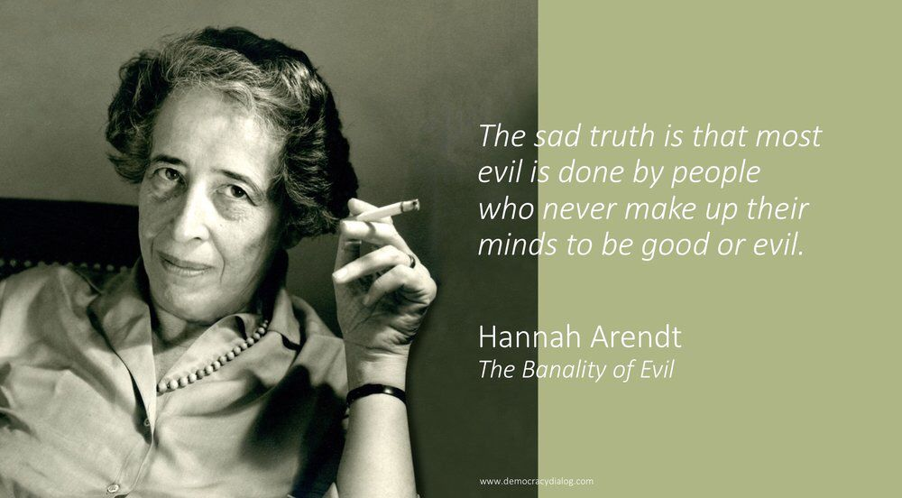 Happy Birthday Hannah Arendt !