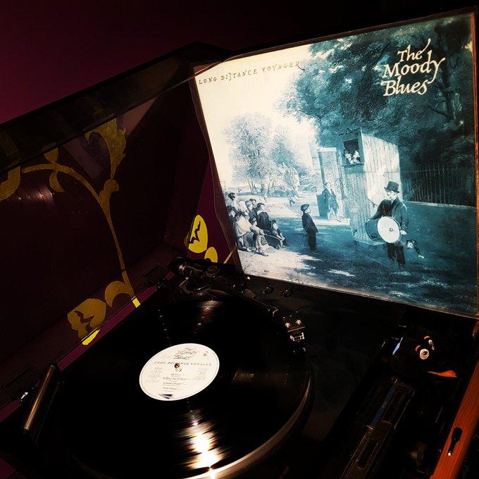 Happy Birthday Justin Hayward *72* ! The Moody Blues (Decca/1981)