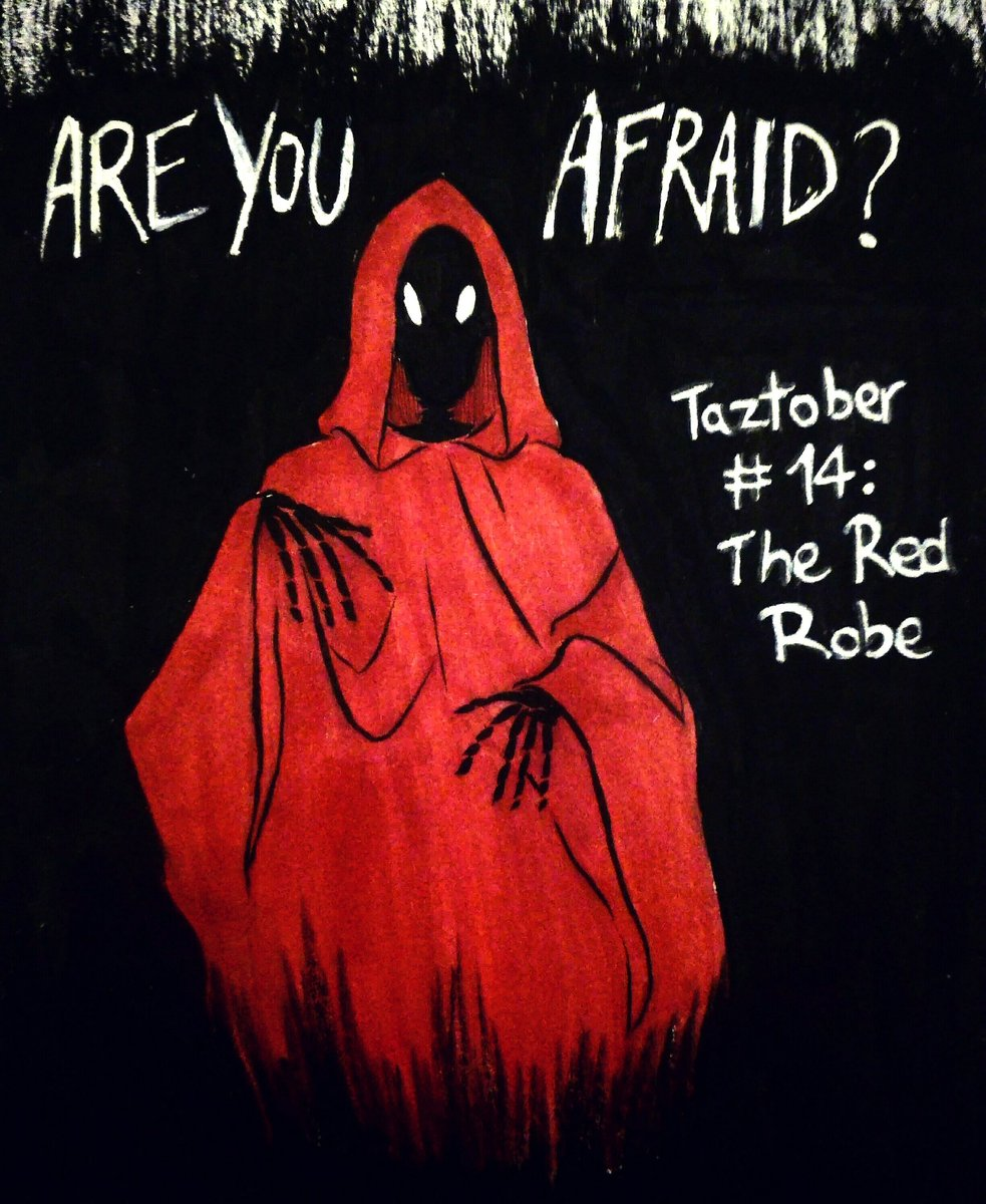 Fdevitart On Twitter Taztober Day 14 The Red Robe You Do Not Know How To Be Afraid Thezonecast Thezonecast Inktober Inktober2018 Theadventurezone Tazbalance Theredrobe Redrobe Lich Ghost Dnd Dungeonsanddragons Red