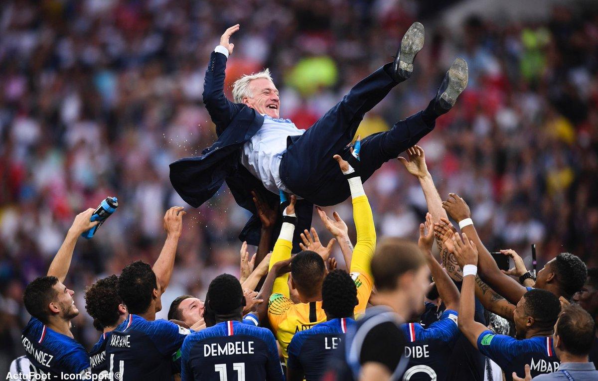 Joyeux anniversaire à Didier Deschamps, 50 ans aujourd'hui. 🇫🇷