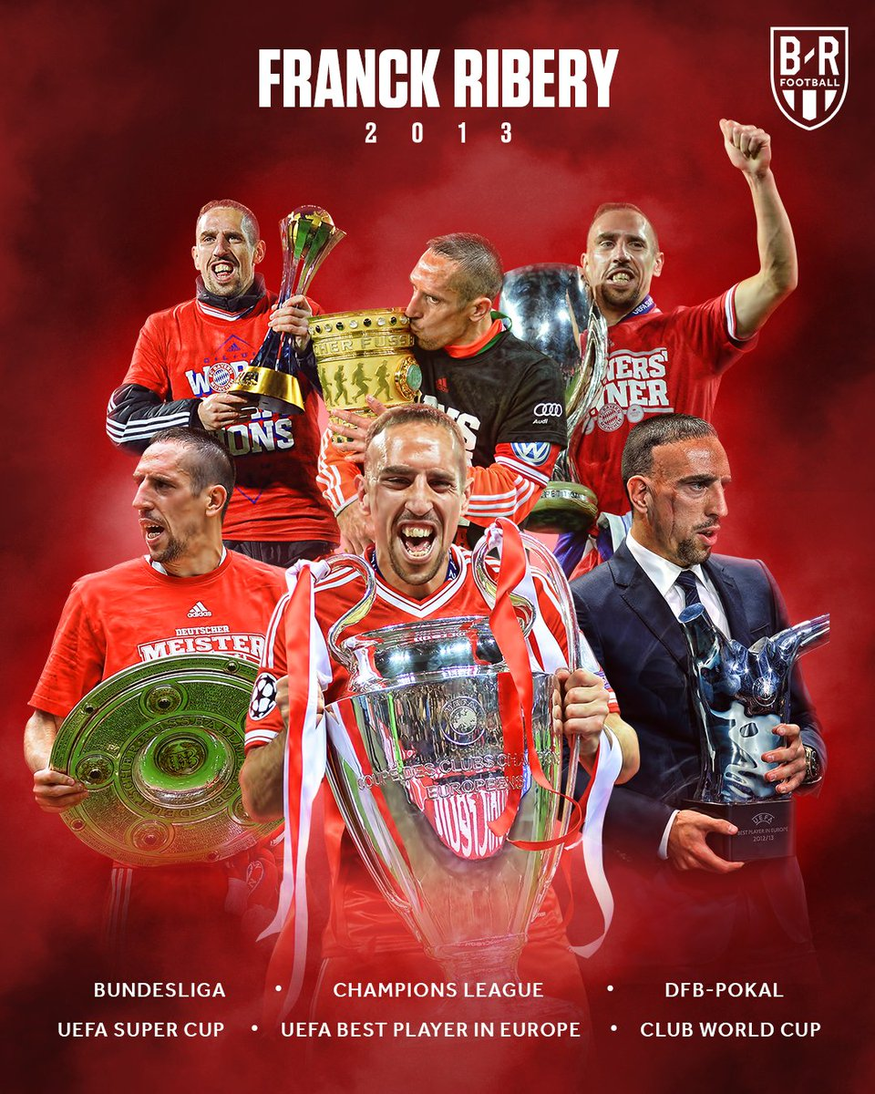 Not enough for @FranckRibery to win the 2013 Ballon d'Or 🤔