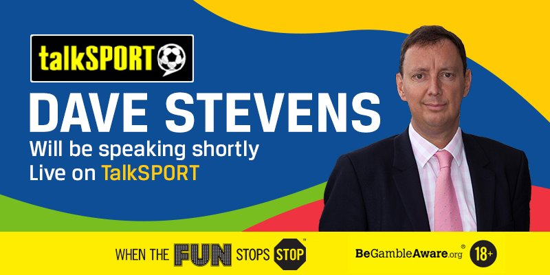 Tune into @talkSPORT where our man @Pompey_Dave will be live shortly, talking through all the latest betting news!