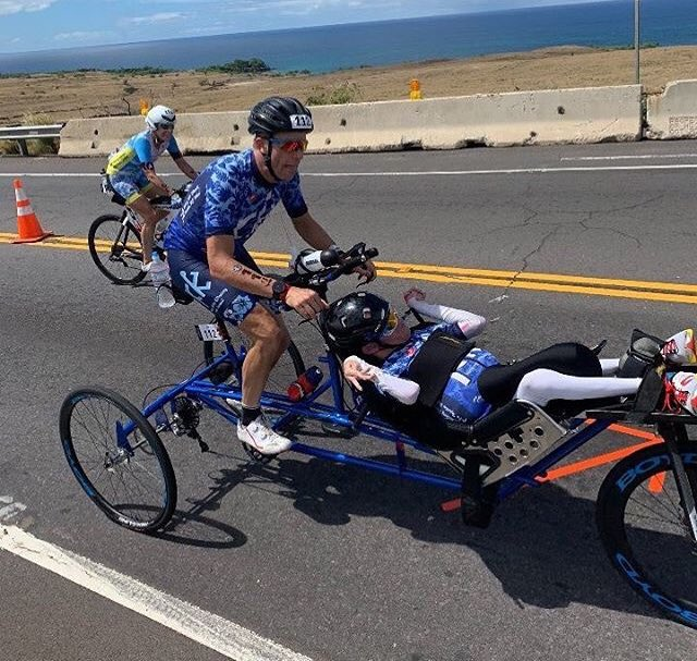 Congrats to our friends Brent and Kyle Pease. These amazing brothers finished IRONMAN World Championships together - becoming the first Wheelchair-Assisted Team of Brothers to complete the event. @walkingwithkp, you're an inspiration! #IMWC Photo
