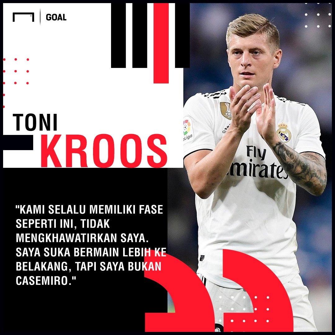 Toni Kroos Tak Bahagia Jalani Posisi Baru Di Real Madrid  https://t.co/gzUUq5E6HN https://t.co/juaMGQmKlO