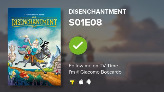 test Twitter Media - I've just watched episode S01E08 of Disenchantment! #disenchantment  #tvtime https://t.co/4QrqLqD48N https://t.co/cWFiMwkkq4