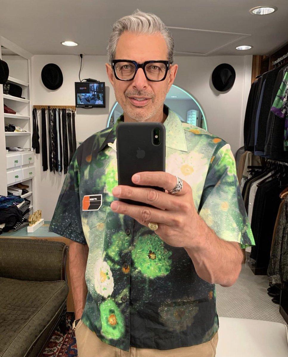 Goldblum Looks (@goldblumlooks) on Twitter photo 16/10/2018 19:11:40