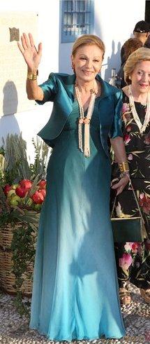 Happy birthday to Empress Farah Pahlavi Photo: 2010, Spetses, Greece.