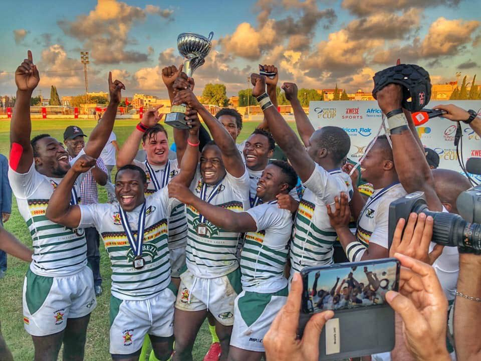 Zimbabwe Cheetahs African Champs! So proud of you boys, well done. https://t.co/obwlhU4Tat