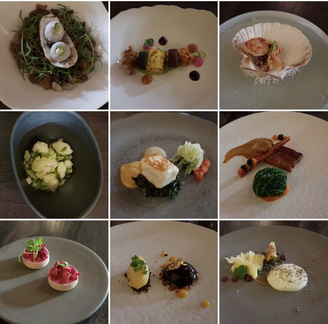 What can can I say, just tried the autumn taster menu @opheemtweets better than my first visit and that was impeccable! No @aktarislam tonight 😢,but the ship was captained to pure brilliance by @chefwithers! #CullinaryExcellence #InnovativeFlavourCombinations