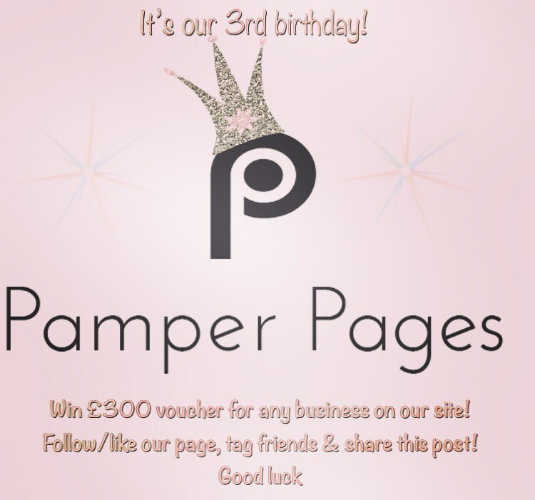 Our birthday #competition ends tomorrow to #win £300 voucher to any business of your choice that is on our site!  #RTtoWin ... follow us &amp; tag friends! Good luck  : #birthday #birthdaygift #prize #lucky #winner #giveaway #pamper #gift #goodluck #liketowin #followtowin #enter<br>http://pic.twitter.com/AnMDcMTfB8