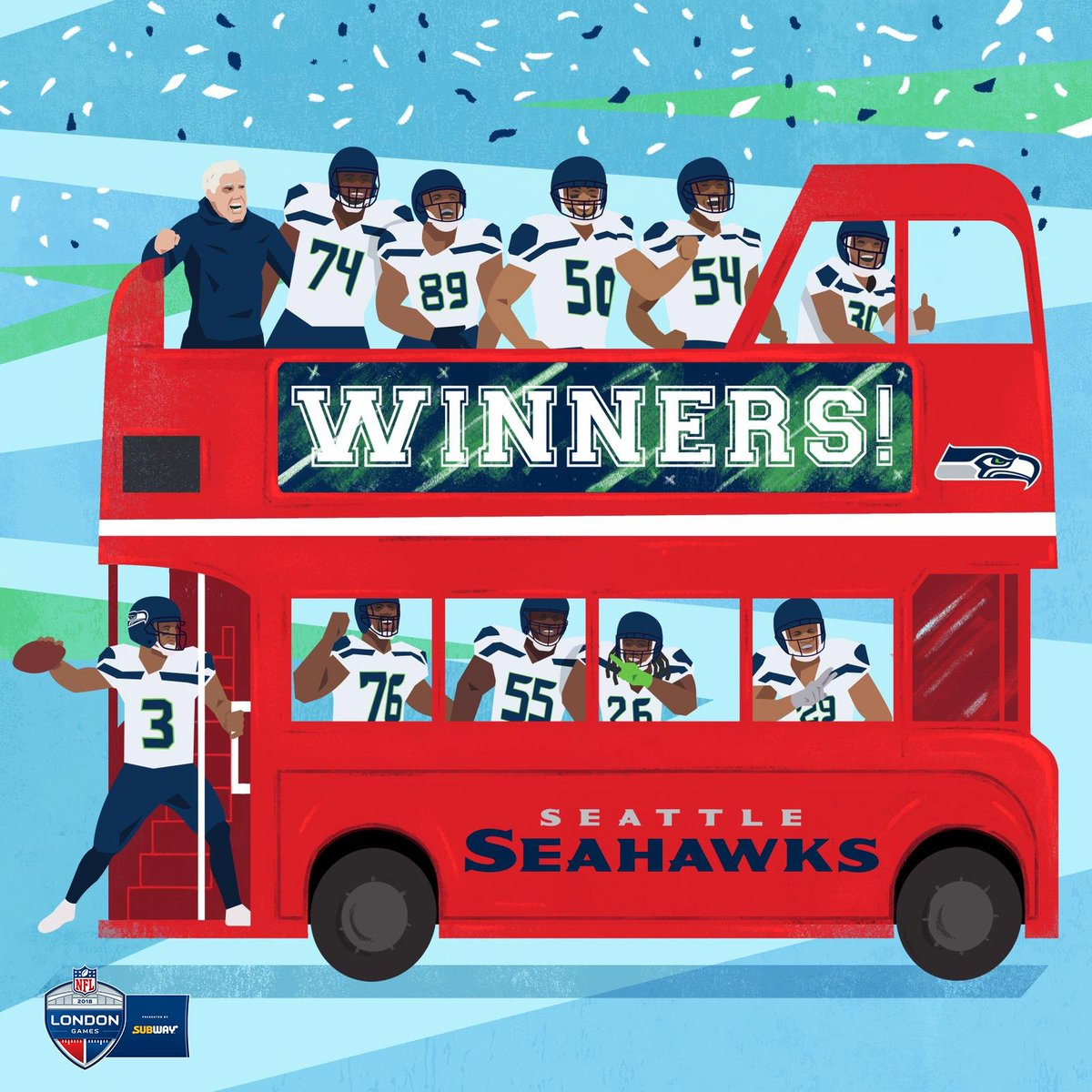 WINNERS   The @Seahawks leave @wembleystadium in style    #NFLUK <br>http://pic.twitter.com/B39pHR2Ioi