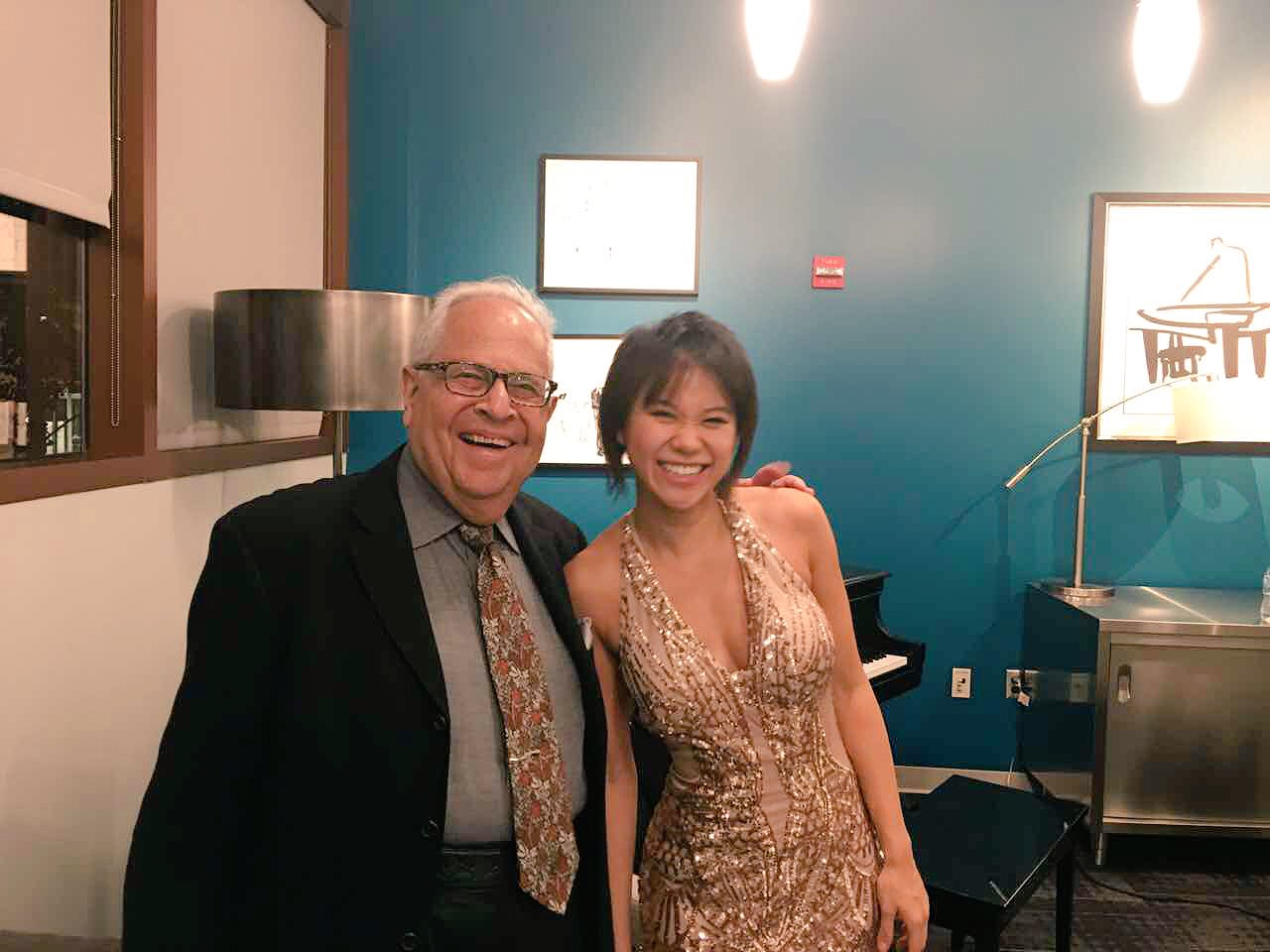 Reloaded twaddle – RT @YujaWang: To my beloved teacher Gary Graffman! I want to live like you, once...