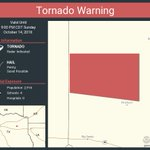 Image for the Tweet beginning: Tornado Warning continues for Upshur