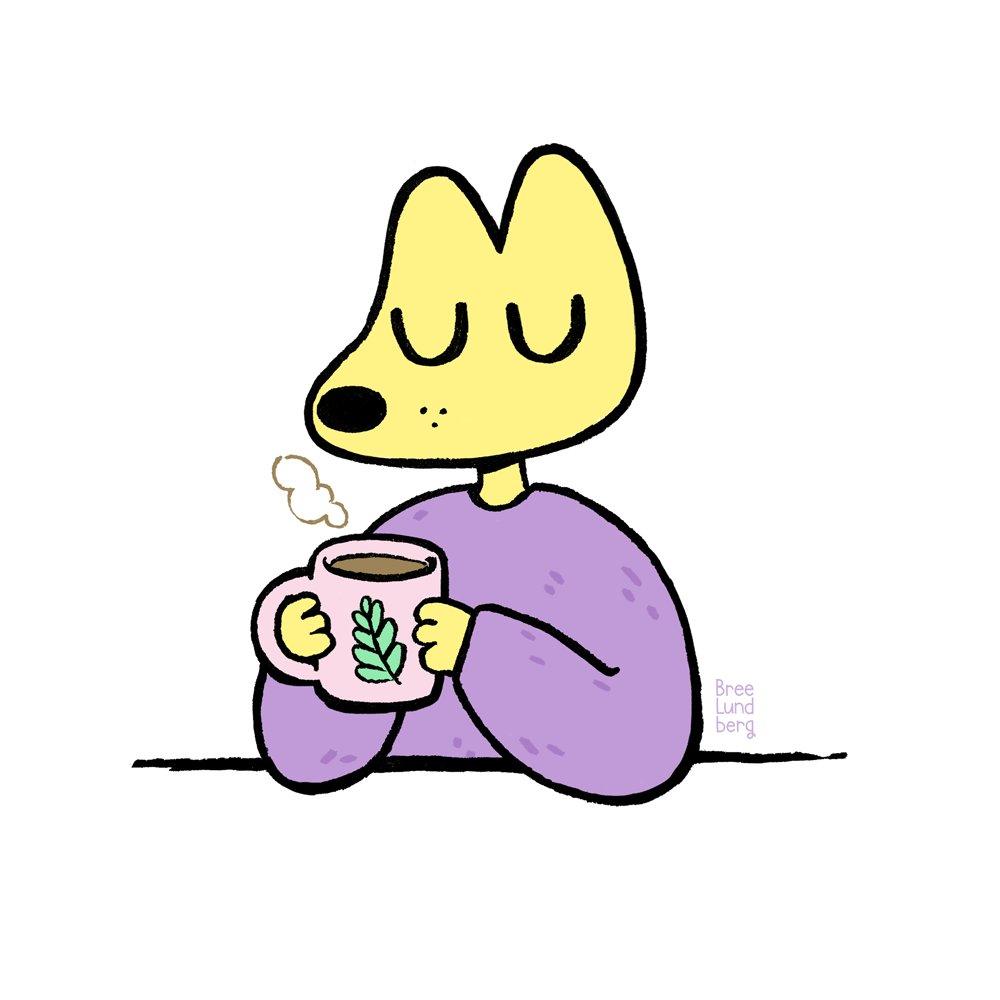 Unwind with a big mug of spiced tea. ☕️ Day 14 #inktober #inktober2018