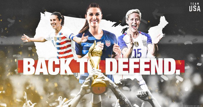 I I Believe I Believe That I Believe That We I Believe That We Will 𝗜 𝗕𝗘𝗟𝗜𝗘𝗩𝗘 𝗧𝗛𝗔𝗧 𝗪𝗘 𝗪𝗜𝗟𝗟 𝗪𝗜𝗡! THE #USWNT HAS QUALIFIED FOR THE 2019 WORLD CUP‼️ Photo