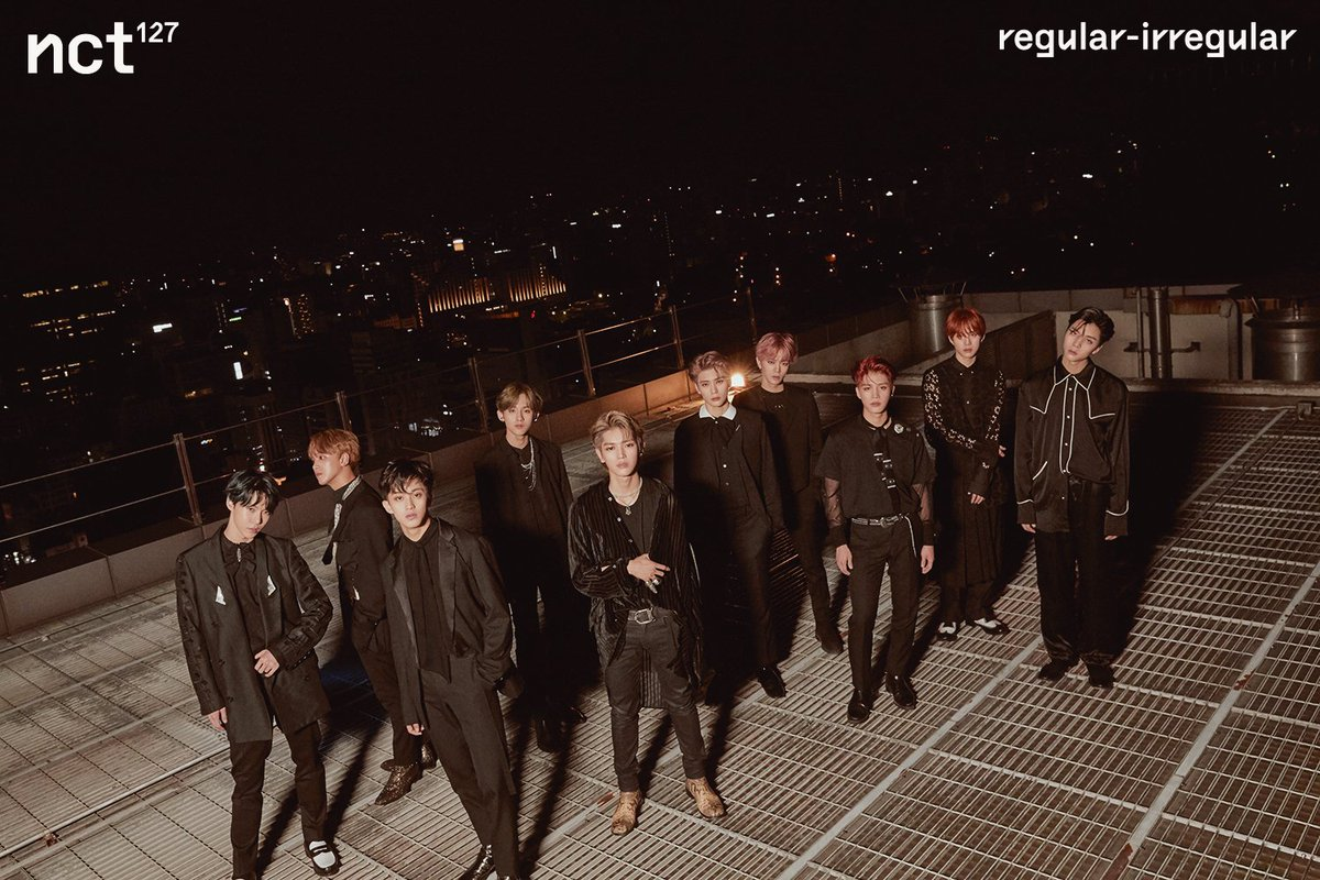 #NCT127's first full album '#NCT127_Regular_Irregular' 🏆 No.1 on various Korea's weekly album charts, including HANTEO Chart, Synnara Record, HOTTRACKS, and Kyobo Book Centre 🏆 No.1 on Chinese Xiami music Korean Album Chart with the title song '#Regular'