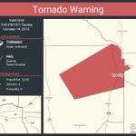 Image for the Tweet beginning: Tornado Warning including Ore City