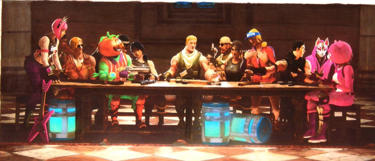 "Tfue Wallpaper: Luke Shoewalker On Twitter: ""#lastsupper Vs #standoff"