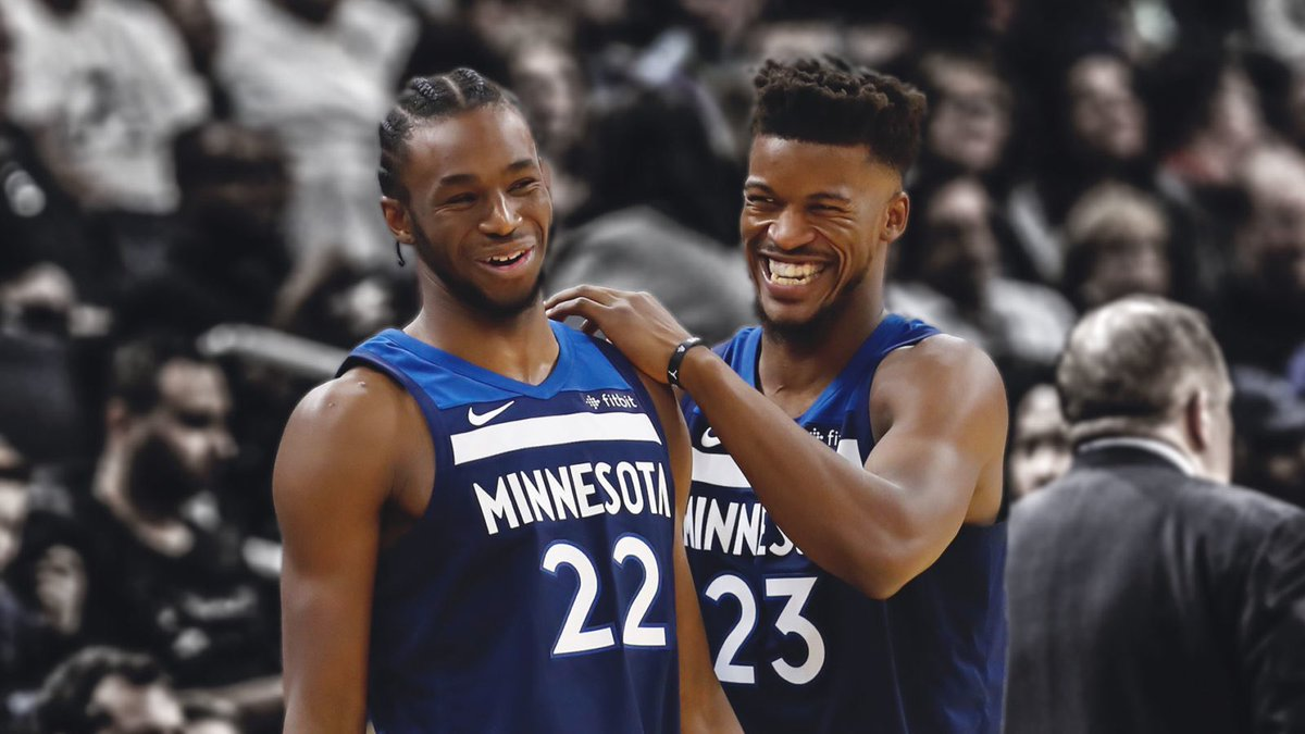 Andrew Wiggins on the Jimmy Butler drama:   &quot;All I know is when we start playing the real games, Jimmy is someone you want on your team.&quot; <br>http://pic.twitter.com/vAfm4PZMSy