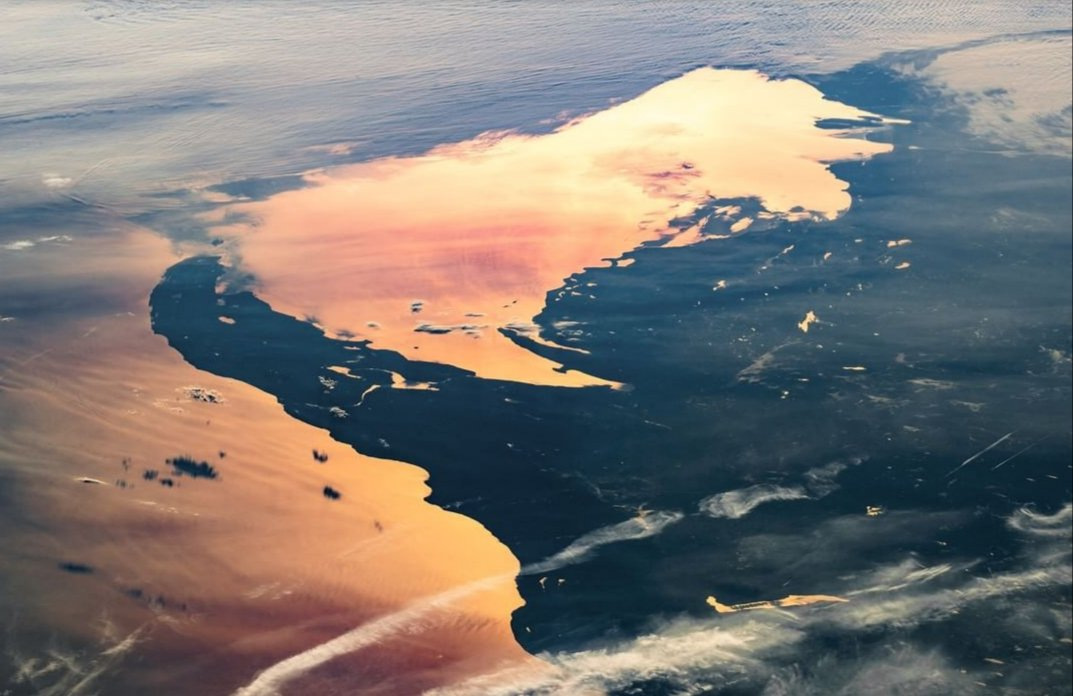 Michigan's Upper Peninsula as seen from #NASA International Space Station