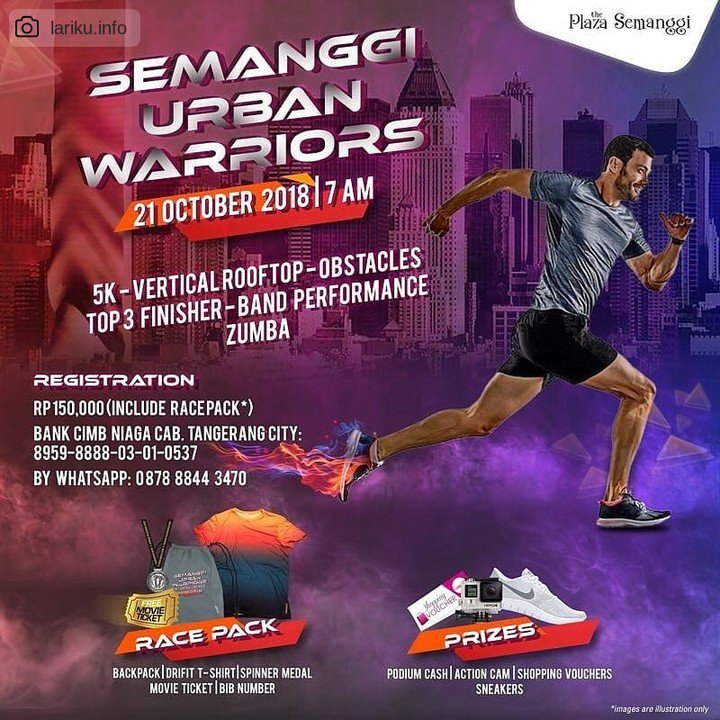 Semanggi Urban Warrior • 2018