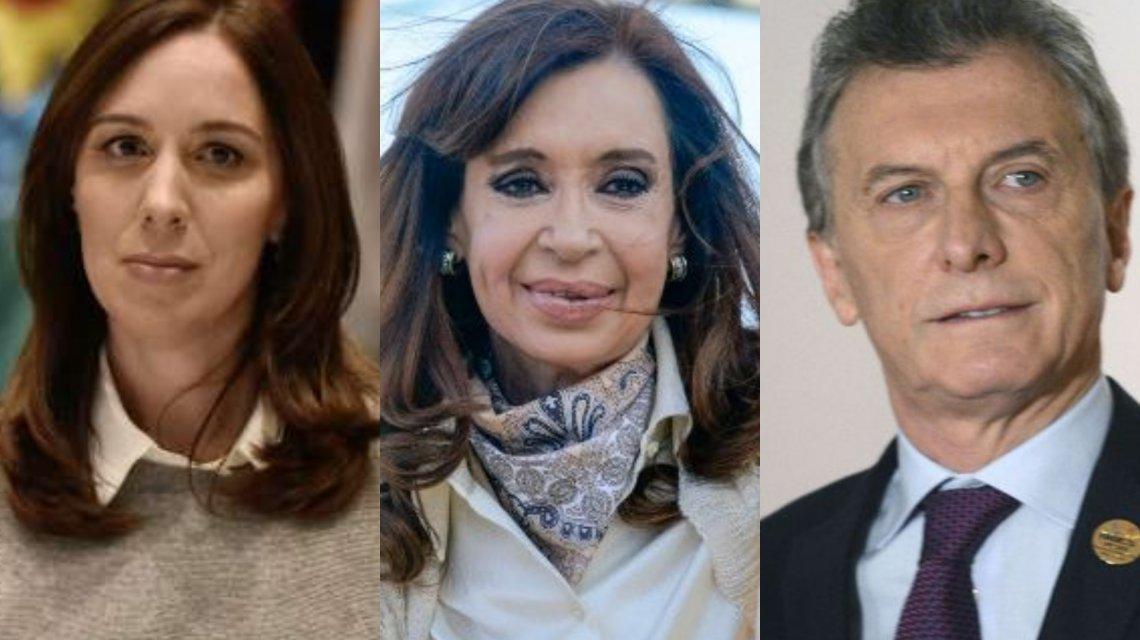 Vidal, Cristina y Macri: los candidatos que hoy tienen más intención de voto a Presidente https://t.co/kxxvxQQAOU