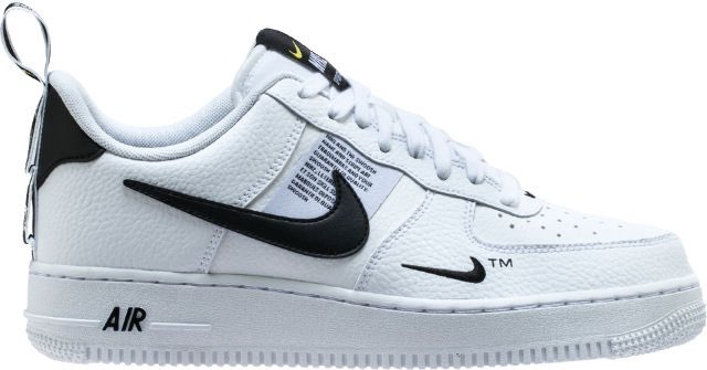 huge selection of 62b69 e5c86 air force 1 07 lv8 utility mens white black tour yellow shipped