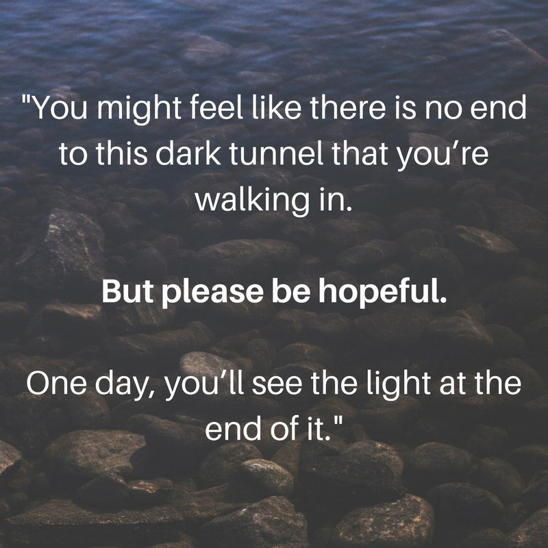 Please be hopeful. More at @voicesofyouth - our channel by youth, for youth.
