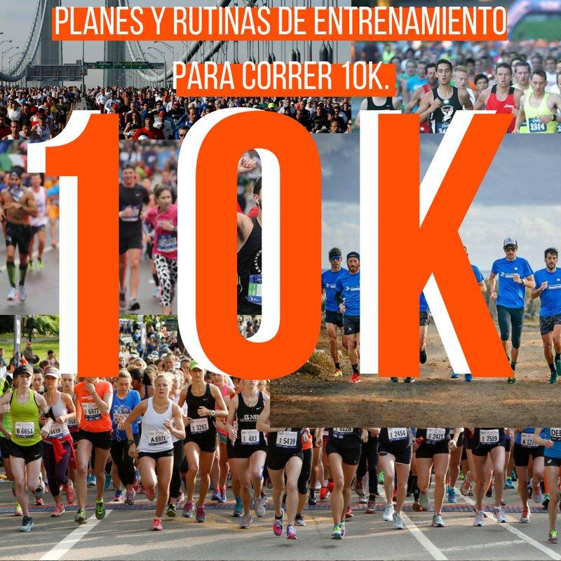 plan de entrenamiento para correr 10k principiantes
