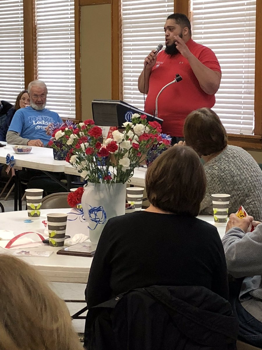 Had the awesome task of representing @DeidreDeJear today. First stop was Cedar County Dems followed by Johnson County Dems. I got so much positive feedback about Deirdre. She is definitely loved. If that's indicative of what's to come Nov 6 then it's time to celebrate. #Nov6<br>http://pic.twitter.com/NPbEw2LsO8