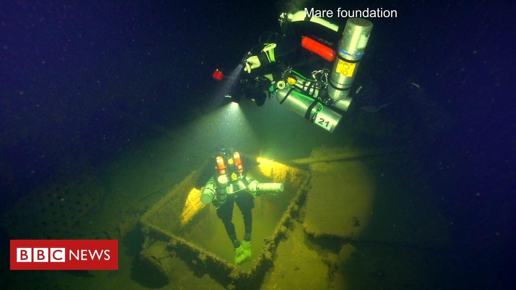 #Vídeo O navio nazista que se tornou uma 'bomba-relógio' no fundo do mar https://t.co/qdPFnKouWL
