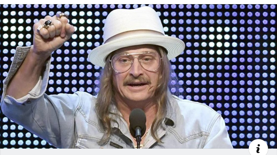 Why does Kid Rock look like Dr. Phil dressed up as Kid Rock