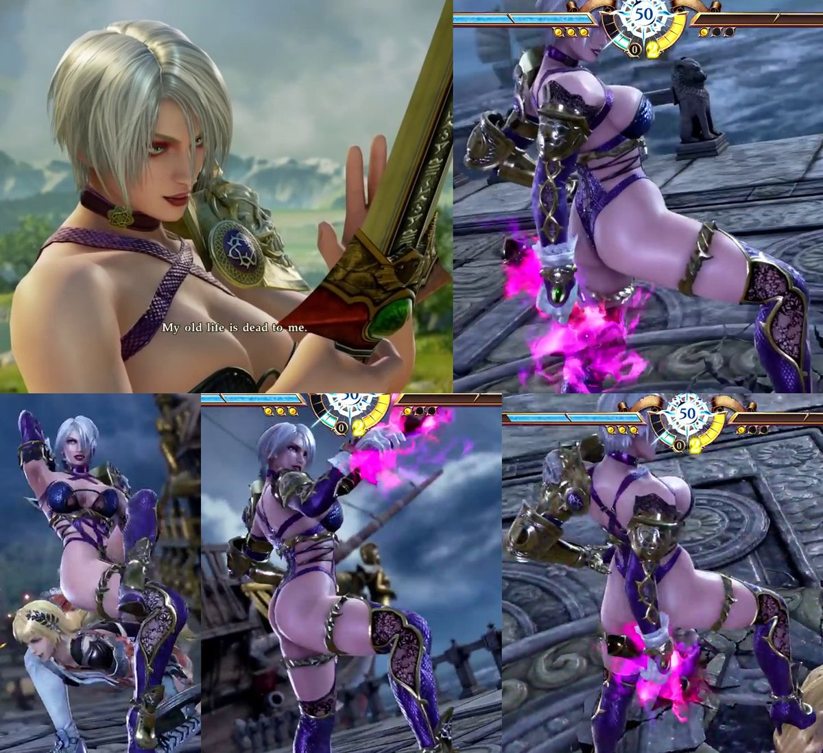 Animated Soul Caliber Porn isabellavalentine hashtag on twitter