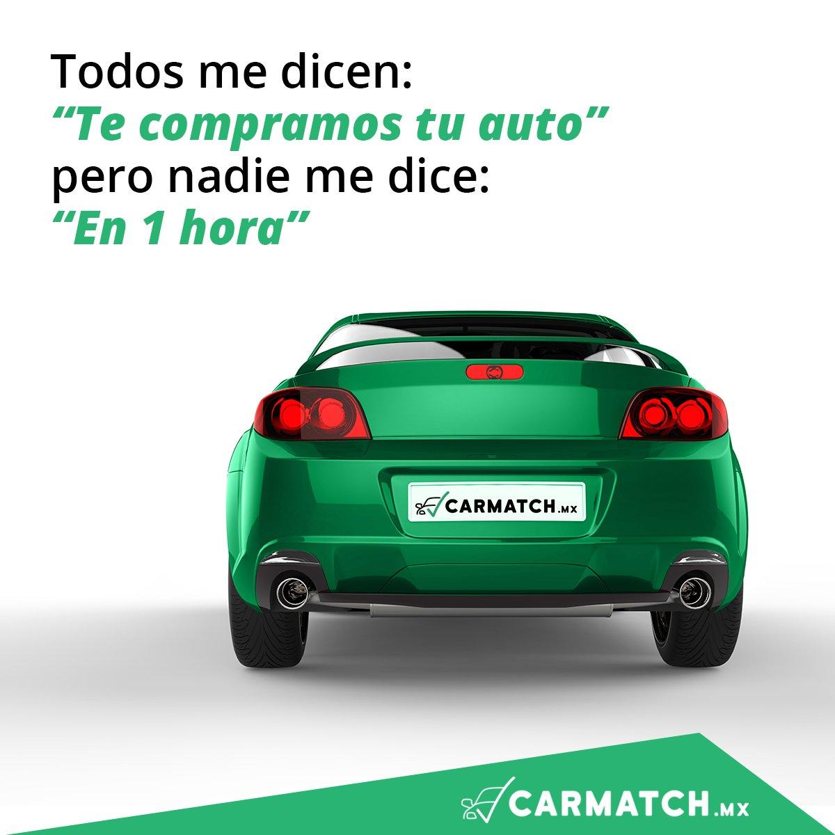 Conoce CarmatchMx, donde compramos tu auto en 1 hora 😉  Cotiza tu auto aquí y agenda tu cita ¡ahora!https://t.co/V5DsH2Cy0o https://t.co/FTpeknuMIP