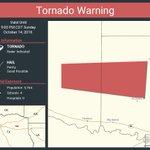 Image for the Tweet beginning: Tornado Warning including Upshur County,