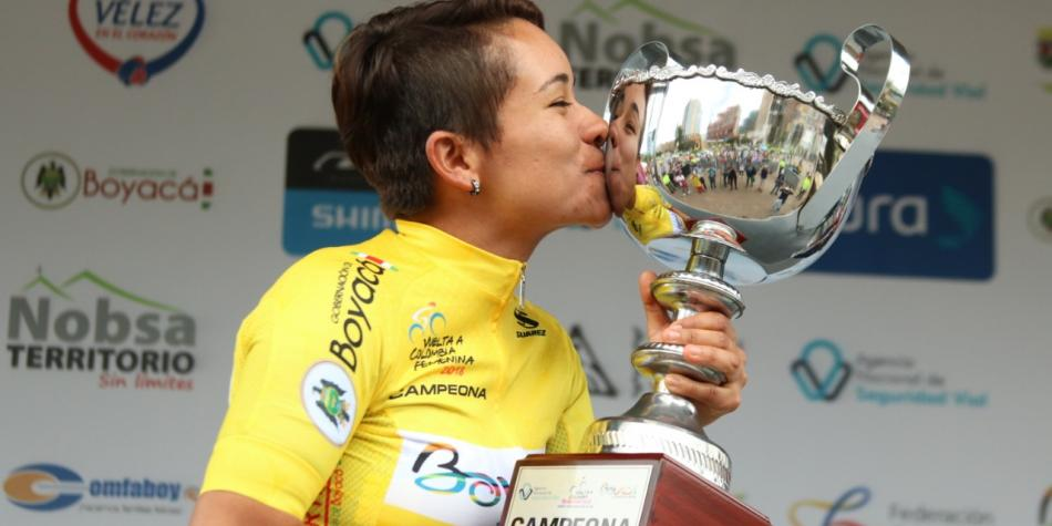 Ana Cristina Sanabria, campeona de la Vuelta a Colombia femenina https://t.co/SP6AFMReWF