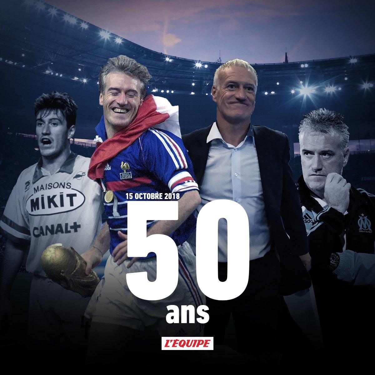 L Equipe On Twitter Joyeux Anniversaire Didier Deschamps Sa