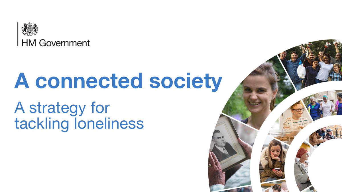 NEWS: Prime Minister Theresa May launches Government's first #loneliness strategy #aconnectedsociety https://t.co/fpfV4NSFFd