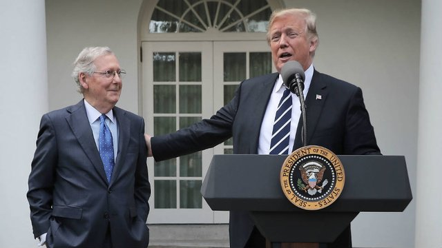 Trump: 'There's nobody tougher' than Mitch McConnell https://t.co/DVLNK82d6Y https://t.co/6LWMLZmOaa
